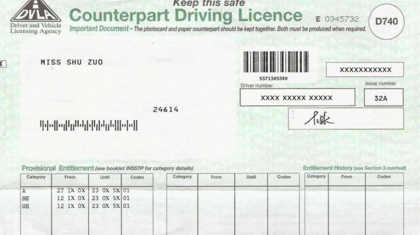 UK Driving License changes 2015: What this means toyou