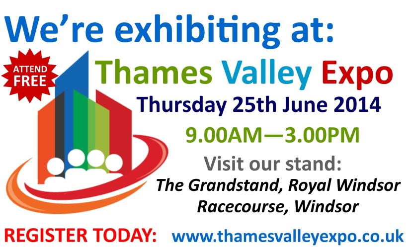 Lexus Reading are Exhibiting at The Thames Valley Expo !